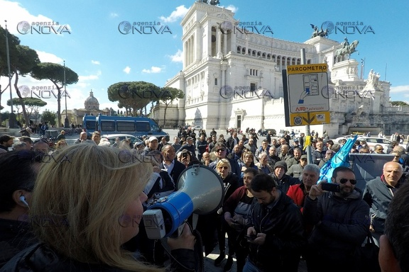 Protesta venditori ambulanti