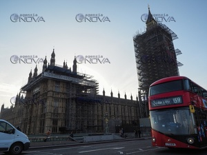 Lavori in corso a Westminster, Londra